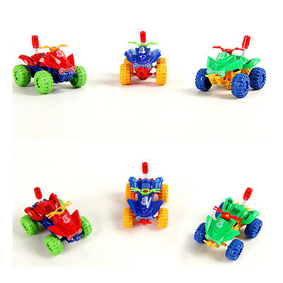 Pull Back Power Motorbike Toy Mini Motorcycle Baby Kids Beach Toy UQ