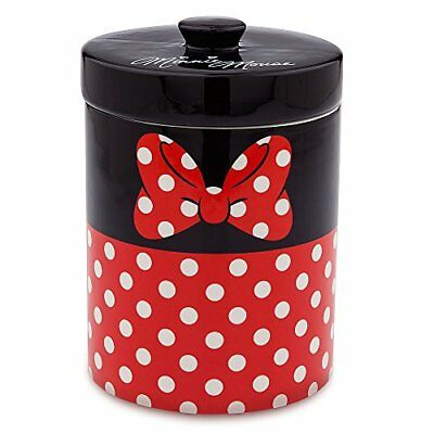 Disney Minnie Mouse Ceramic Kitchen Cannister Red