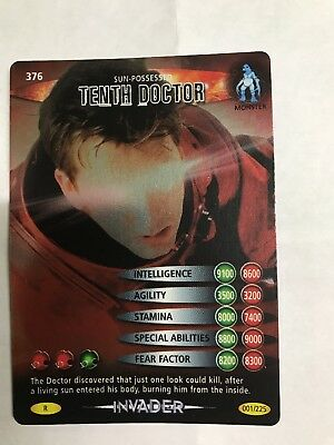 Doctor Who Battles In Time Invader #376 Sun-possessed Tenth Doctor