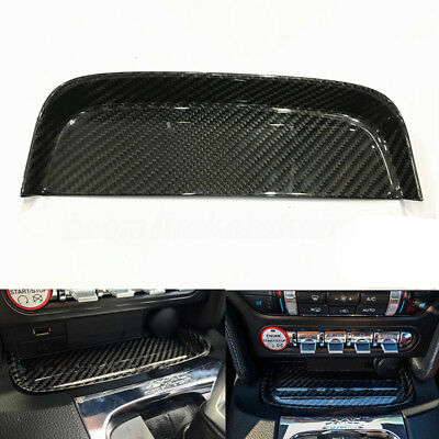 Change Coin Tray Box Real Carbon Fiber For Ford Mustang S550 GT 2015-2017 AU