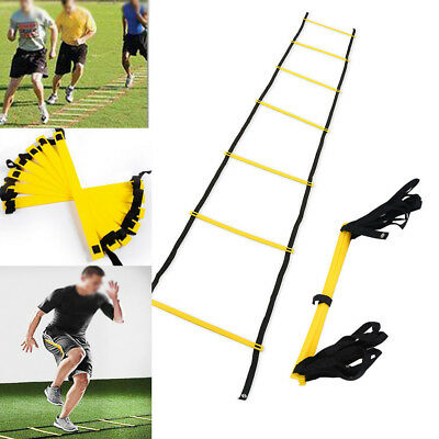 Speed Training Agility Ladder Footwork Exercise For Football Soccer Sports SA