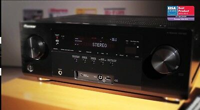 Pioneer VSX-922-K Receiver is a 7.2-channel home theatre receiver.