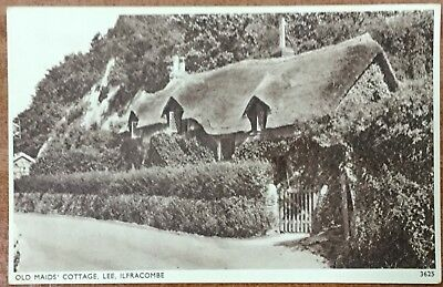 Old Maids Cottage - Lee - Ilfracombe - Unwritten Postcard - Sweetman