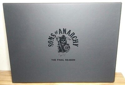 Sons Of Anarchy The Final Season Promotional Press Kit FX book Must Have Buy it!