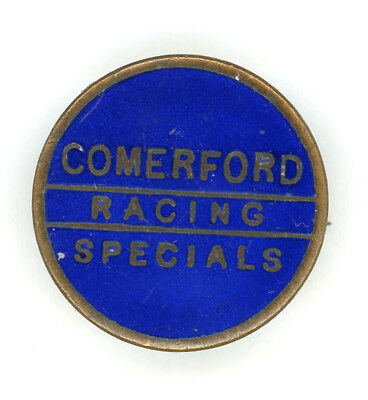 Skid Marks..  1930s Commerford Speedway Badge