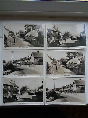 Tatworth Somerset Bulk Lot Of 6 Early Real Photo Postcards No Rubbish Cards Mint