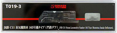 Rokuhan T019-3 Z Scale JNR Steam Locomotive Type C11 Number 165 Smoke Deflectors