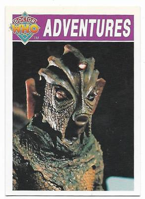 1994 Cornerstone DR WHO Base Card (10) Adventures