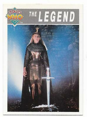 1994 Cornerstone DR WHO Base Card (100) The Legend