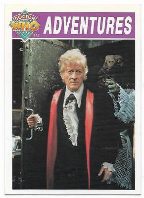 1994 Cornerstone DR WHO Base Card (13) Adventures