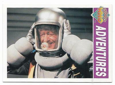 1994 Cornerstone DR WHO Base Card (15) Adventures