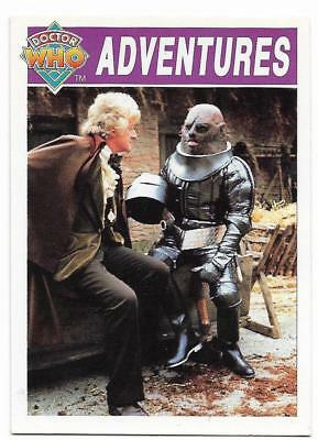 1994 Cornerstone DR WHO Base Card (16) Adventures