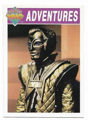 1994 Cornerstone DR WHO Base Card (24) Adventures
