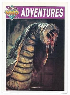 1994 Cornerstone DR WHO Base Card (26) Adventures