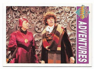 1994 Cornerstone DR WHO Base Card (27) Adventures