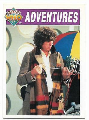 1994 Cornerstone DR WHO Base Card (32) Adventures