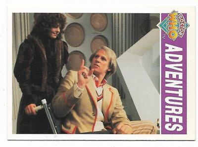 1994 Cornerstone DR WHO Base Card (37) Adventures