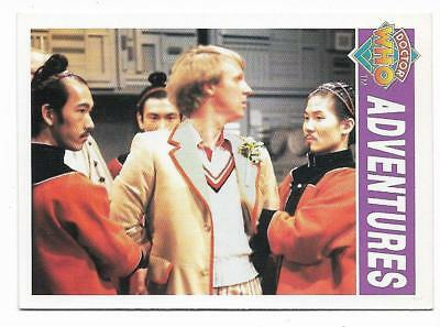 1994 Cornerstone DR WHO Base Card (38) Adventures
