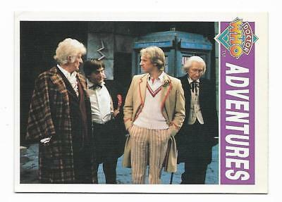 1994 Cornerstone DR WHO Base Card (40) Adventures
