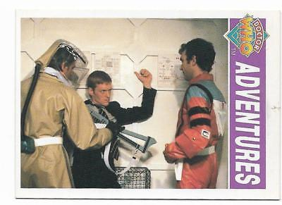 1994 Cornerstone DR WHO Base Card (41) Adventures