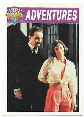 1994 Cornerstone DR WHO Base Card (44) Adventures