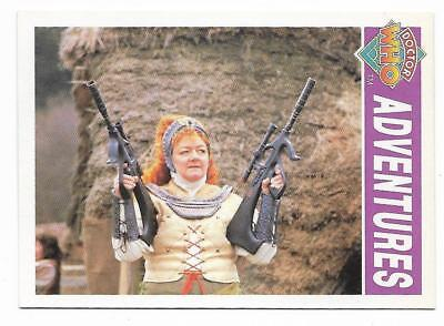 1994 Cornerstone DR WHO Base Card (49) Adventures
