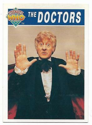 1994 Cornerstone DR WHO Base Card (63) The Doctors