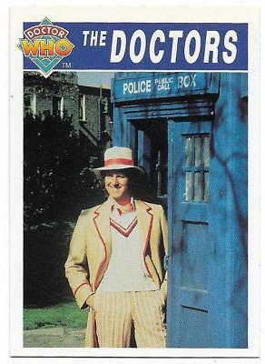 1994 Cornerstone DR WHO Base Card (69) The Doctors