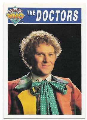 1994 Cornerstone DR WHO Base Card (71) The Doctors