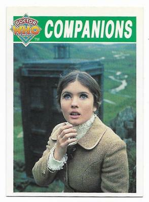 1994 Cornerstone DR WHO Base Card (76) Companions