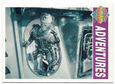 1994 Cornerstone DR WHO Base Card (8) Adventures