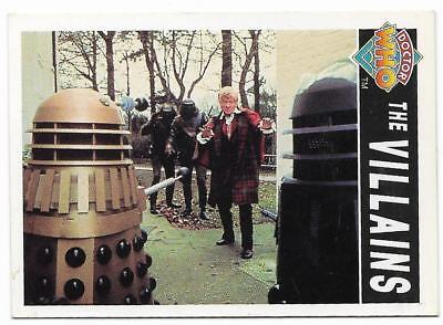 1994 Cornerstone DR WHO Base Card (85) The Villains