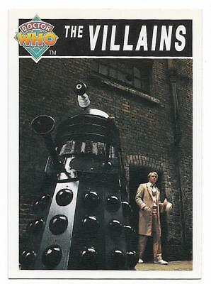 1994 Cornerstone DR WHO Base Card (88) The Villains