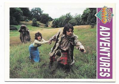 1994 Cornerstone DR WHO Base Card (9) Adventures