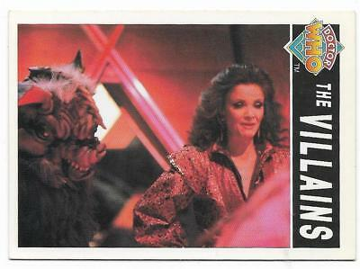1994 Cornerstone DR WHO Base Card (98) The Villains