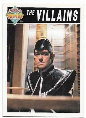 1994 Cornerstone DR WHO Base Card (99) The Villains