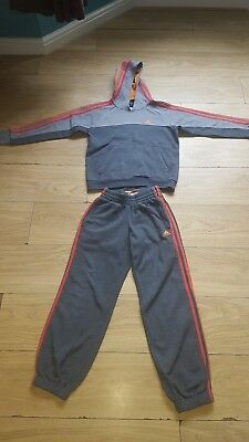 Boys Adidas Tracksuit Age 9-10  Hoodie & Tracksuit Bottoms
