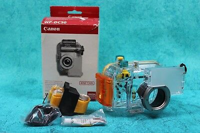 IMMACULATE Canon WP-DC50 Waterproof Case to 40m for Digital Camera (Hospiscare)