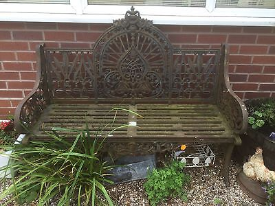 Antique Bench ..relisted Due To Time Waster