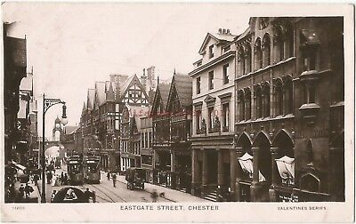 Cheshire Chester Eastgate Street 2 Real Photo Vintage Postcards 18.10
