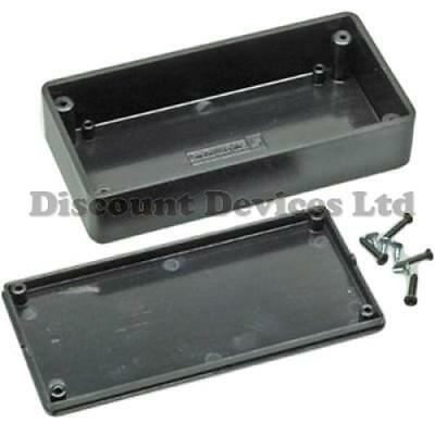 100x50x25mm Black ABS Plastic Enclosure Small Project Box For Electronic Circuit