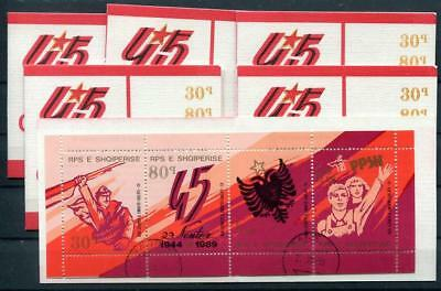 Albania 1989 Used 6X Booklet 11499