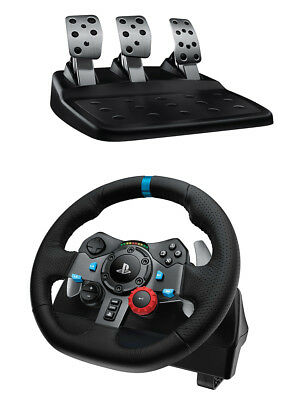 Logitech G29 Driving Force Racing Wheel for PS3 and PS4 *VGWC*+Warranty!