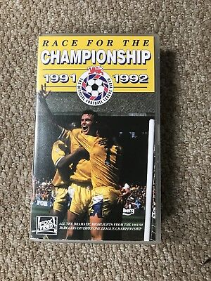 Race For The Championship 1991-1992 Vhs Tape (Leeds United)
