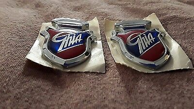 Classic Ford Ghia badges 1980's