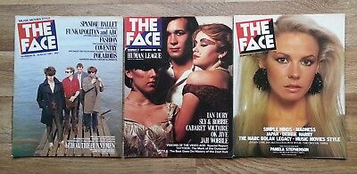 THE FACE MAGAZINE Issues 16/17/18 August/September/October 1981