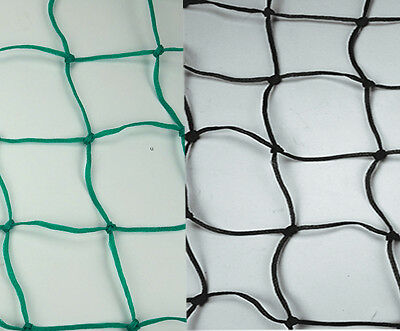 5m × 5m CHILD SAFE POND SAFETY NET netting pool covers grids BLACK/GREEN