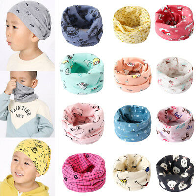 Magic Cartoon Kids Baby Bandana Neck Gaiter Snood Headwear Tube Scarf