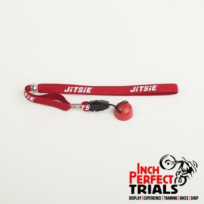 Jitsie Leonelli Replacement Magnetic Cap & Lanyard Red For Kill Switch Bike