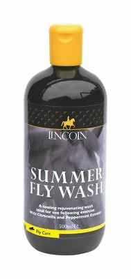 Lincoln Summer Fly Wash for Horses & Ponies -Citronella & Peppermint 500ml 4260